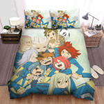 Inazuma Eleven Group Image Bed Sheets Spread Duvet Cover Bedding Sets