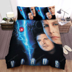 Virus (1999) Lightning Bed Sheets Spread Comforter Duvet Cover Bedding Sets