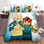 Inazuma Eleven Gouenji Shuuya And Endou Mamoru Bed Sheets Spread Duvet Cover Bedding Sets