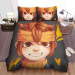 Inazuma Eleven Endou Bed Sheets Spread Duvet Cover Bedding Sets