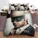 The Lone Ranger (2013) Movie White Cowboy Hat Photo Bed Sheets Spread Comforter Duvet Cover Bedding Sets