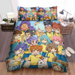 Inazuma Eleven Friend Time Bed Sheets Spread Duvet Cover Bedding Sets