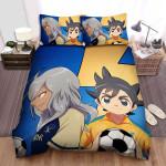 Inazuma Eleven Endou, Haizaki And Nosaka Bed Sheets Spread Duvet Cover Bedding Sets