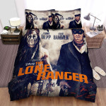 The Lone Ranger (2013) Movie Smoke Background Bed Sheets Spread Comforter Duvet Cover Bedding Sets