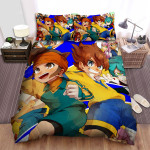 Inazuma Eleven Go Ahead Bed Sheets Spread Duvet Cover Bedding Sets