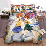 Inazuma Eleven Whole Characters Bed Sheets Spread Duvet Cover Bedding Sets