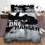 The Lone Ranger (2013) Movie Creepy Eyes Bed Sheets Spread Comforter Duvet Cover Bedding Sets