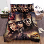 The Lone Ranger (2013) Movie All Characters Photo Bed Sheets Spread Comforter Duvet Cover Bedding Sets