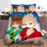 Inazuma Eleven Gouenji And Endou Bed Sheets Spread Duvet Cover Bedding Sets