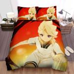 Inazuma Eleven Gouenji Ver Girl Bed Sheets Spread Duvet Cover Bedding Sets