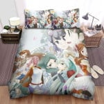 Inazuma Eleven Group Of Girls Bed Sheets Spread Duvet Cover Bedding Sets