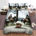 The Lone Ranger (2013) Movie Horse Photo Bed Sheets Spread Comforter Duvet Cover Bedding Sets
