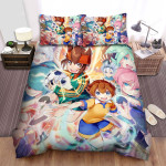Inazuma Eleven Thunder Ball Bed Sheets Spread Duvet Cover Bedding Sets