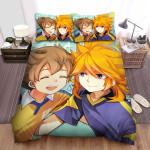 Inazuma Eleven Having Fun Bed Sheets Spread Duvet Cover Bedding Sets