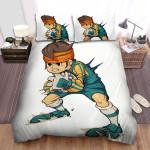 Inazuma Eleven Endou Digital Artwork Bed Sheets Spread Duvet Cover Bedding Sets