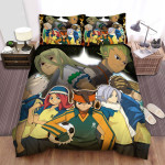 Inazuma Eleven Group Picture Bed Sheets Spread Duvet Cover Bedding Sets
