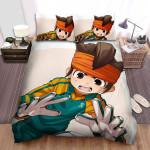 Inazuma Eleven Endou Artwork Bed Sheets Spread Duvet Cover Bedding Sets