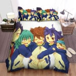 Inazuma Eleven Happy Time Bed Sheets Spread Duvet Cover Bedding Sets
