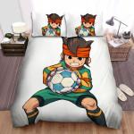 Inazuma Eleven Endou Go Hard Bed Sheets Spread Duvet Cover Bedding Sets