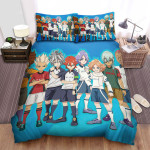 Inazuma Eleven Main Characters Bed Sheets Spread Duvet Cover Bedding Sets