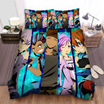 Inazuma Eleven All Characters Bed Sheets Spread Duvet Cover Bedding Sets