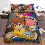 Inazuma Eleven In The Battle Bed Sheets Spread Duvet Cover Bedding Sets