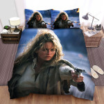 The Quick And The Dead Movie Gun Photo Bed Sheets Spread Comforter Duvet Cover Bedding Sets