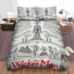 The Wicker Man Movie Poster Xi Photo Bed Sheets Spread Comforter Duvet Cover Bedding Sets