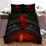 The House That Jack Built Behind Bed Sheets Spread Comforter Duvet Cover Bedding Sets