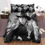 The Quick And The Dead Movie Black And White Photo Bed Sheets Spread Comforter Duvet Cover Bedding Sets