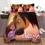 Spirit Untamed (2021) Movie Caress Photo Bed Sheets Spread Comforter Duvet Cover Bedding Sets