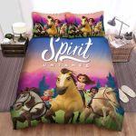 Spirit Untamed (2021) Movie Poster Photo Bed Sheets Spread Comforter Duvet Cover Bedding Sets