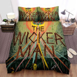 The Wicker Man Movie Poster Iv Photo Bed Sheets Spread Comforter Duvet Cover Bedding Sets