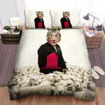 The House That Jack Built Herd Of Sheep Bed Sheets Spread Comforter Duvet Cover Bedding Sets