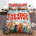 The Big Country Movie Poster 3 Bed Sheets Spread Comforter Duvet Cover Bedding Sets