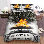 Silent Hill: Revelation Movie Fire Photo Bed Sheets Spread Comforter Duvet Cover Bedding Sets