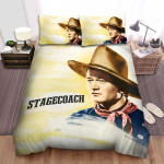 Stagecoach Sunset Bed Sheets Spread Comforter Duvet Cover Bedding Sets