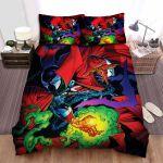 Spawn Movie Art 3 Bed Sheets Spread Comforter Duvet Cover Bedding Sets