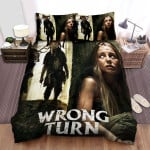 Wrong Turn (I) Movie Poster 2 Bed Sheets Spread Comforter Duvet Cover Bedding Sets