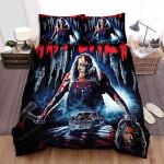 Hatchet Blood Head Bed Sheets Spread Comforter Duvet Cover Bedding Sets