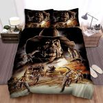 Jeepers Creepers Face Art Bed Sheets Spread Comforter Duvet Cover Bedding Sets