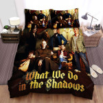 What We Do In The Shadows Movie Poster Viii Photo Bed Sheets Spread Comforter Duvet Cover Bedding Sets