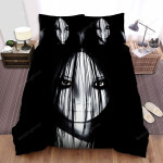 The Grudge Face Bed Sheets Spread Comforter Duvet Cover Bedding Sets