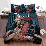Hatchet Art Poster Bed Sheets Spread Comforter Duvet Cover Bedding Sets