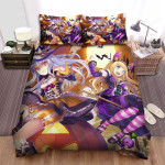 Halloween Witch Freaking Witches And Dolls Bed Sheets Spread Duvet Cover Bedding Sets