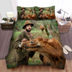 First Cow (2019) Mountain Forest Background Bed Sheets Spread Comforter Duvet Cover Bedding Sets