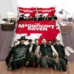 The Magnificent Seven (1960) Poster Movie Poster Bed Sheets Spread Comforter Duvet Cover Bedding Sets Ver 3
