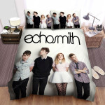 Echosmith Band White Wall Bed Sheets Spread Comforter Duvet Cover Bedding Sets