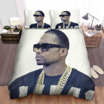 Busy Signal Portrait Of The Men With Dark Glasses Bed Sheets Spread Comforter Duvet Cover Bedding Sets