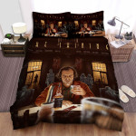 The Shining The Men Is Drinking Alcohol Movie Poster Bed Sheets Spread Comforter Duvet Cover Bedding Sets